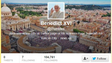 Pope joins Twitter: @Pontifex in 140 chars or less's image